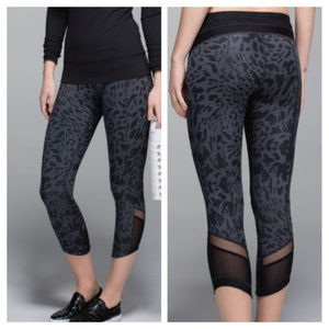 lululemon Just Breate Animal Swirl Crops